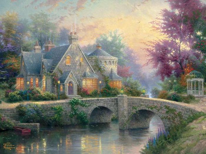 Lamplight Manor Jigsaw Puzzle