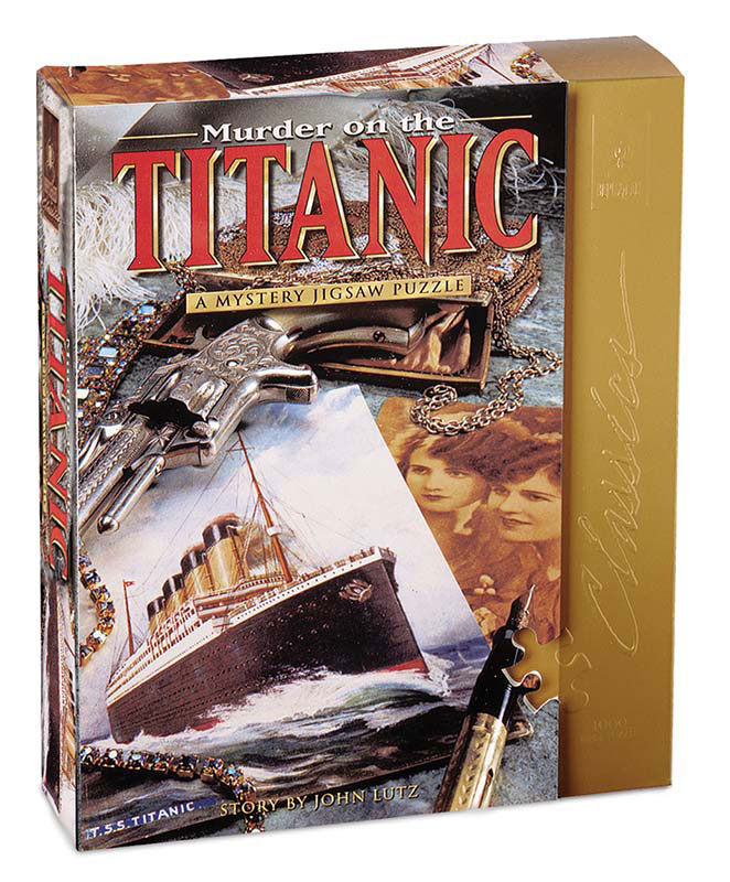 Murder on the Titanic Murder Mystery Jigsaw Puzzle