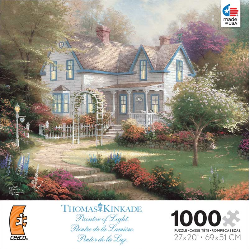 Kinkade - Home is Where the Heart is II Contemporary & Modern Art Jigsaw Puzzle