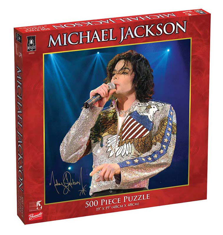 Michael Jackson - What More Can I Give Concert Famous People Jigsaw Puzzle