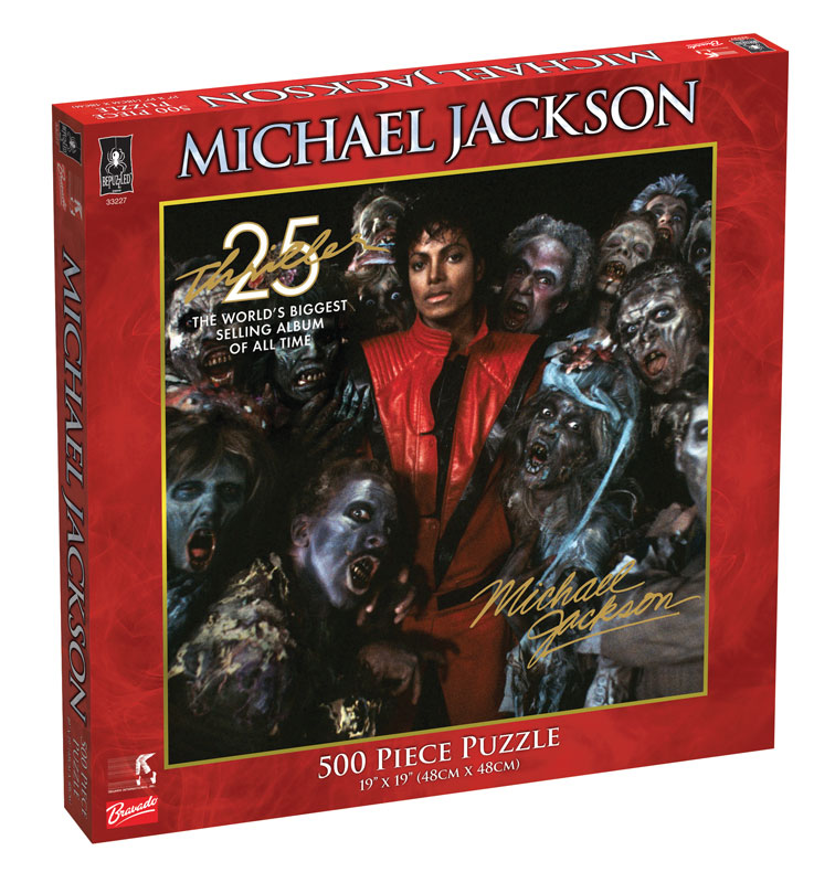 Michael Jackson - Thriller Famous People Jigsaw Puzzle