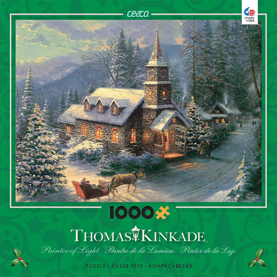 Christmas 2020 Thomas Kinkade Puzzles Thomas Kinkade Christmas Puzzles 2020 | Qwzahn.newyear2020gifts.info