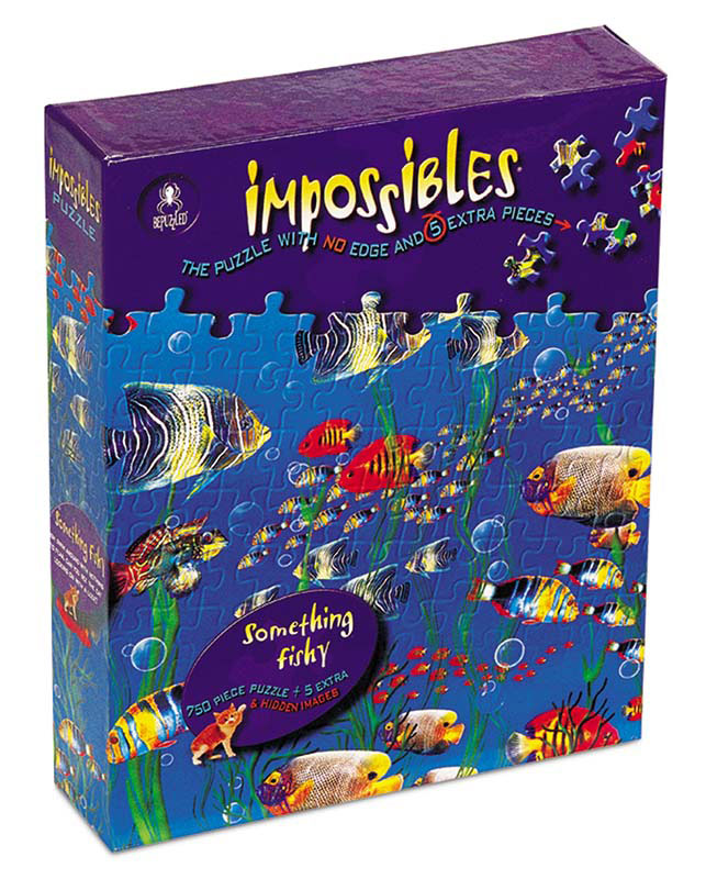 Impossibles Puzzles - Something Fishy Fish Jigsaw Puzzle