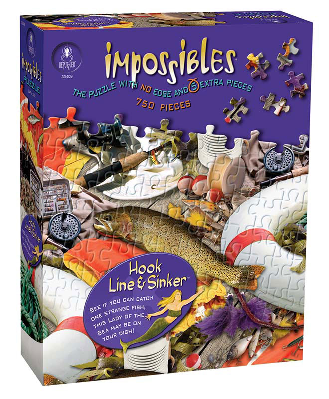 Impossibles Puzzles - Hook, Line & Sinker Everyday Objects Jigsaw Puzzle