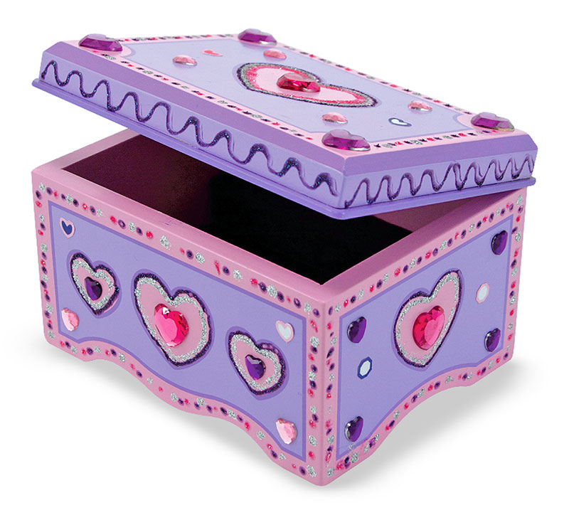 Jewelry Box - DYO Valentine's Day Arts and Crafts