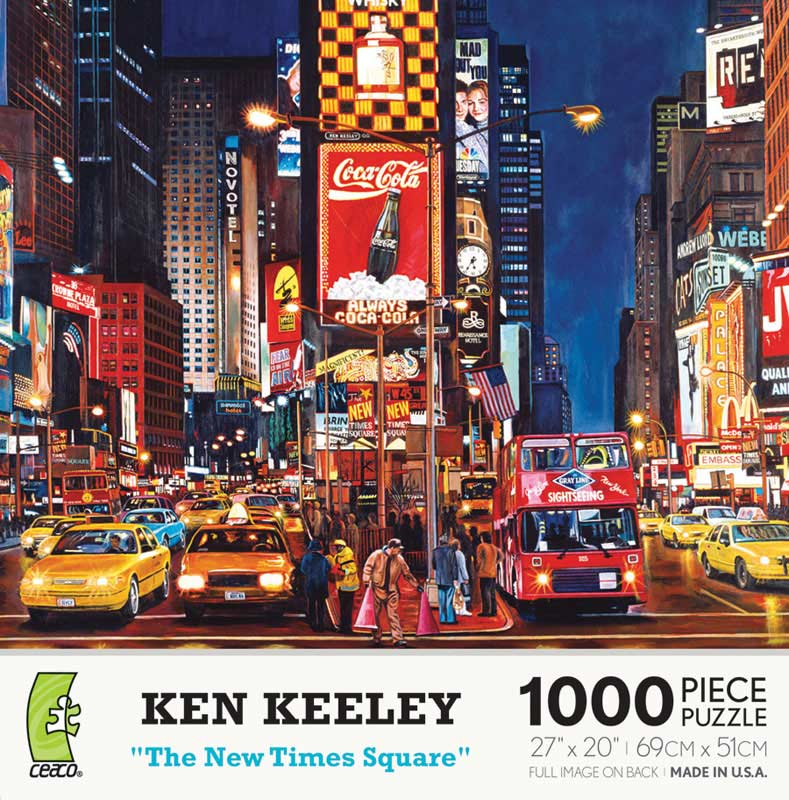 The New Times Square Landmarks Jigsaw Puzzle