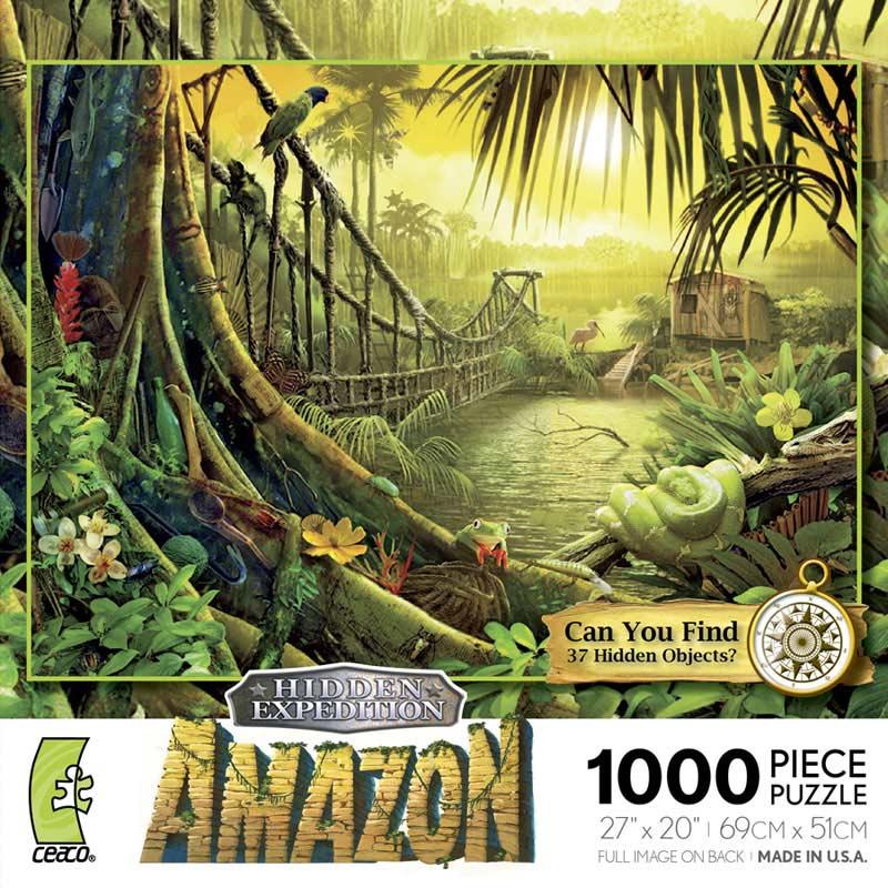 Hidden Expedition - Amazon Bridges Hidden Images