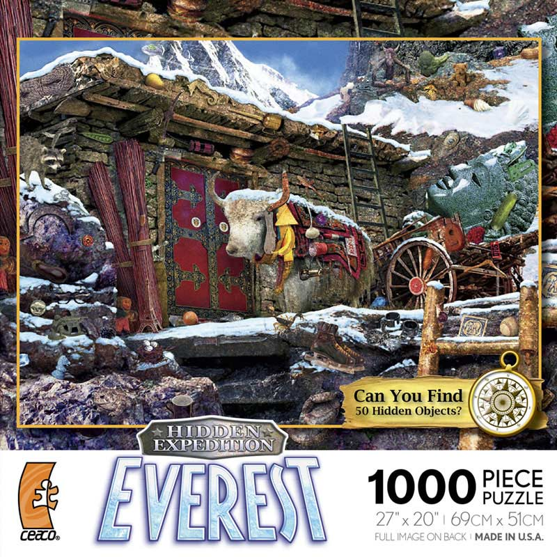 Hidden Expedition - Everest Winter Hidden Images