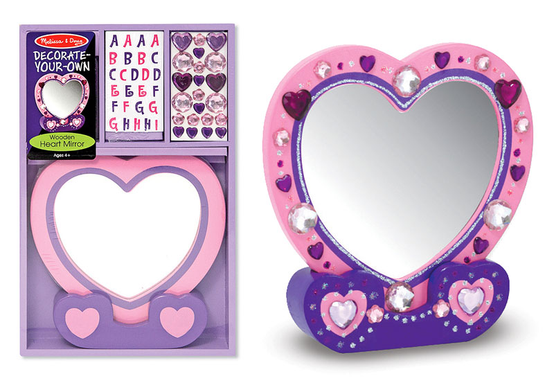 Heart Mirror - DYO Valentine's Day Arts and Crafts