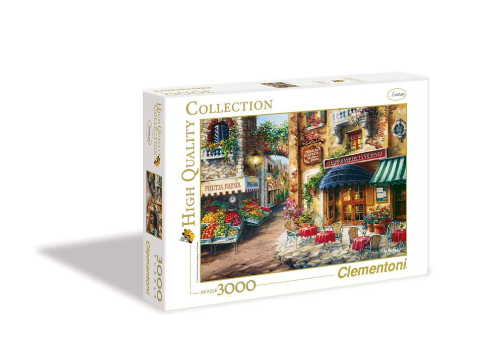 Buon Appetito - Scratch and Dent Street Scene Jigsaw Puzzle