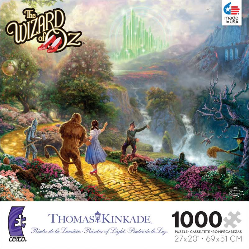 Kinkade - The Wizard of Oz Contemporary & Modern Art Jigsaw Puzzle