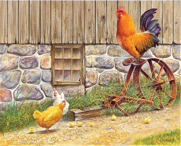 Want a Ride? Farm Animals Jigsaw Puzzle