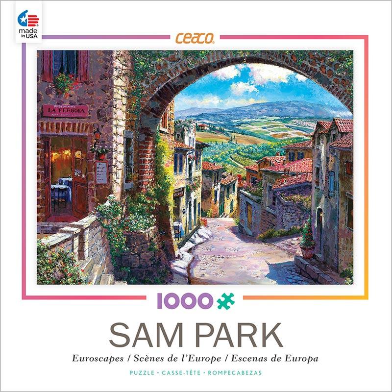 Jerusalem House Puzzle: Tuscany (Euroscapes) Jigsaw Puzzle