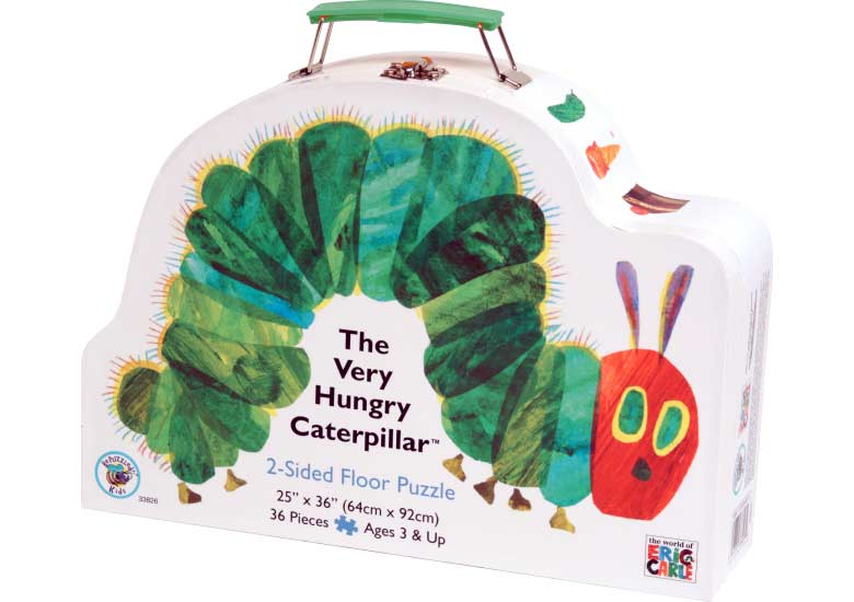The Very Hungry Caterpillar - Floor Puzzle Butterflies and Insects Floor Puzzle