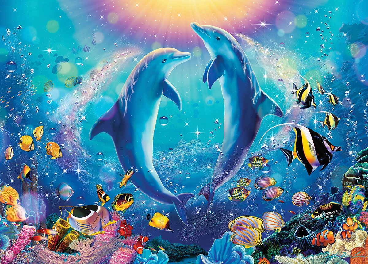Pas de Deux Under The Sea Jigsaw Puzzle