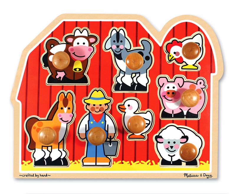 Large Farm Farm Animals Jigsaw Puzzle