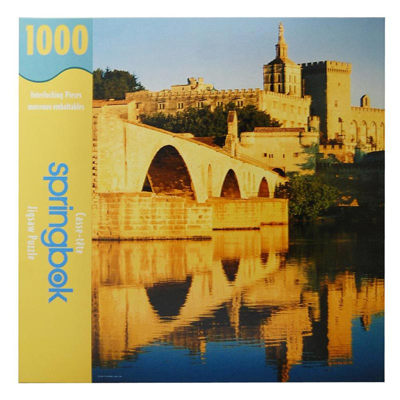 River Reflection Castles Jigsaw Puzzle