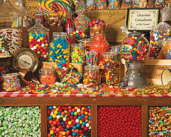 Sweet Shoppe Food and Drink Jigsaw Puzzle