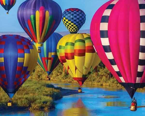 Take Flight Balloons Jigsaw Puzzle