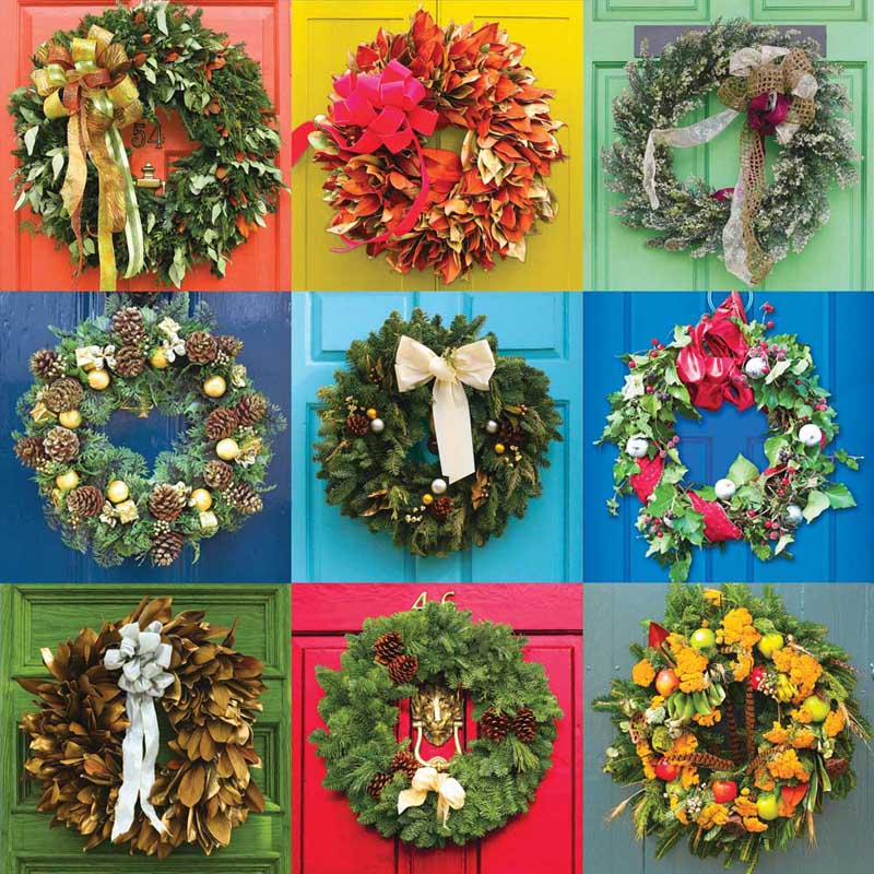 Wreaths Christmas Jigsaw Puzzle