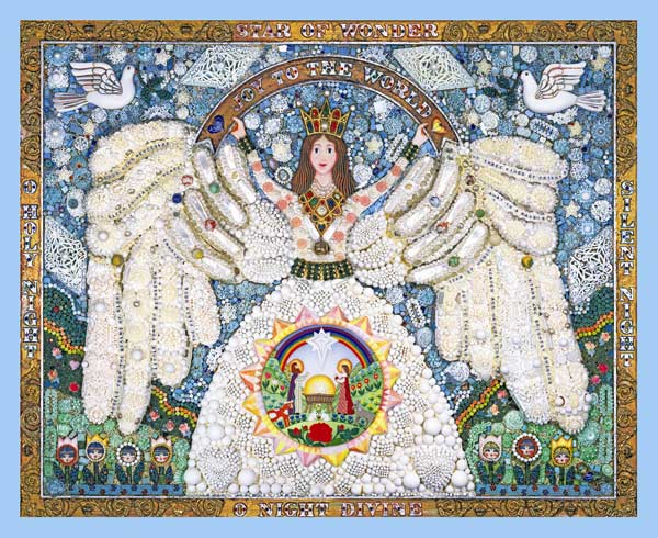 A Christmas Angel Angels Jigsaw Puzzle