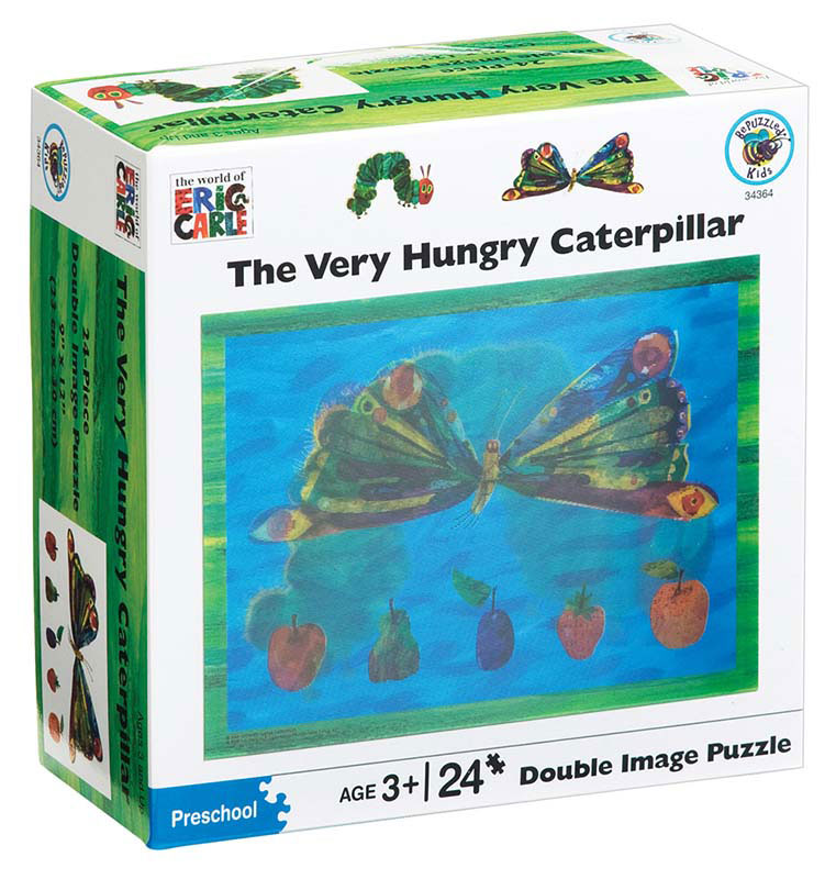 The Very Hungery Caterpillar 3D 3D Puzzle