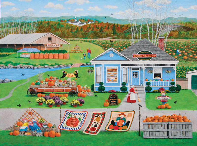 Pies, Pastries & Pumpkins Fall Jigsaw Puzzle