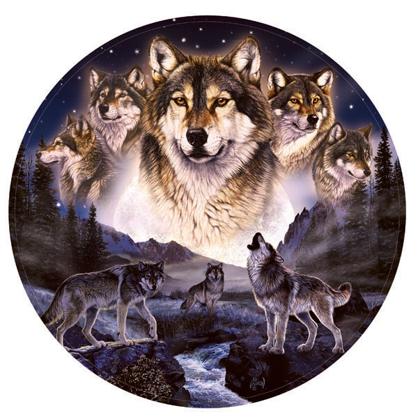 Summoning Wolves Jigsaw Puzzle