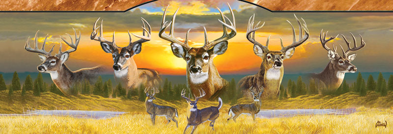 10 Point Buck Wildlife Jigsaw Puzzle