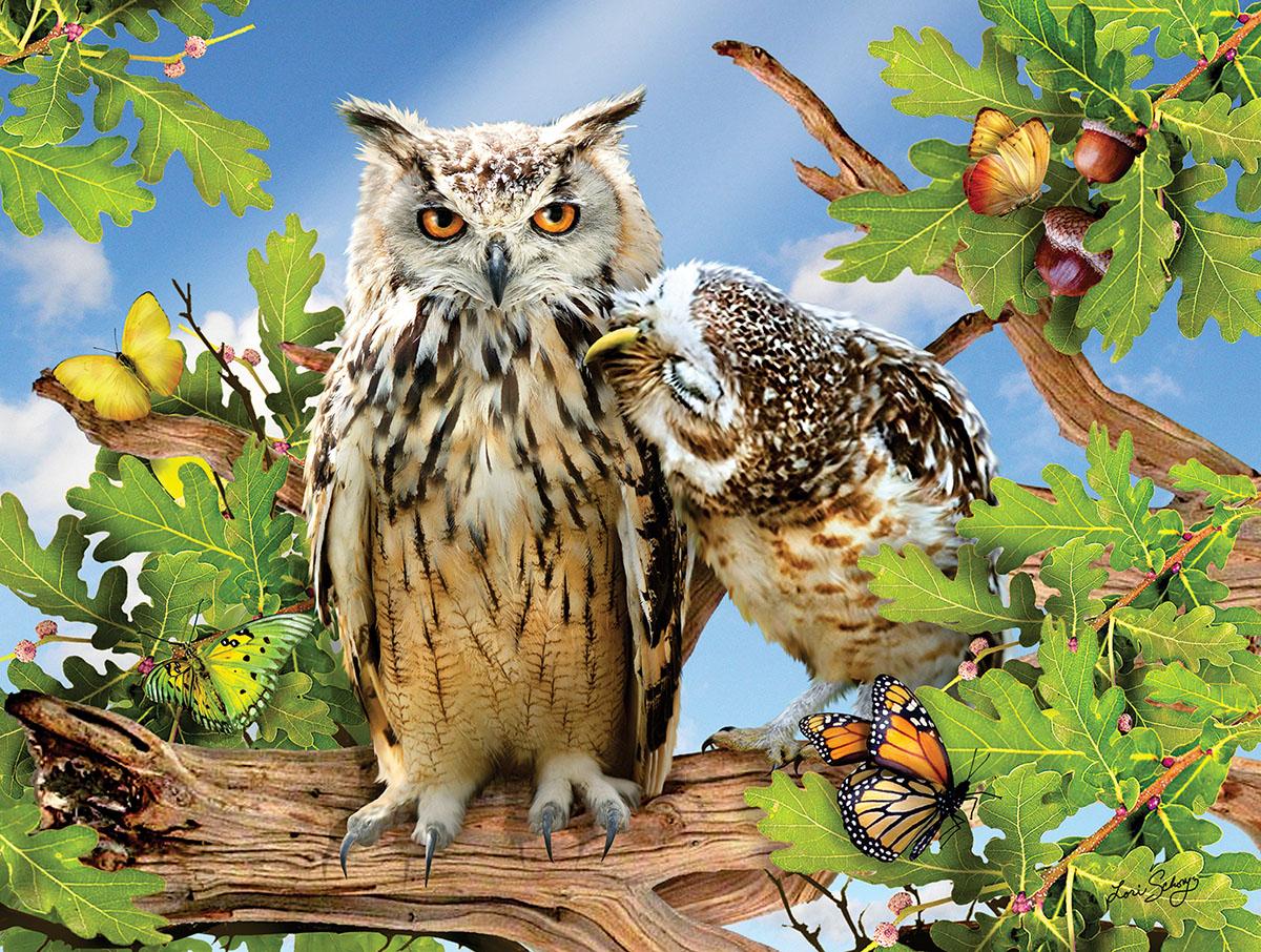 Owl Always Love You Birds Jigsaw Puzzle