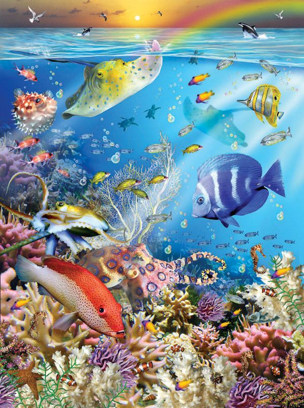 Ocean Wonders Fish Jigsaw Puzzle