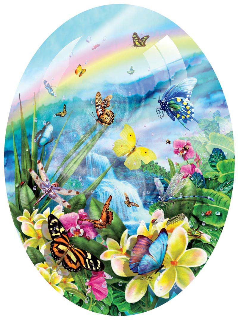 Butterfly Visions Butterflies and Insects Jigsaw Puzzle