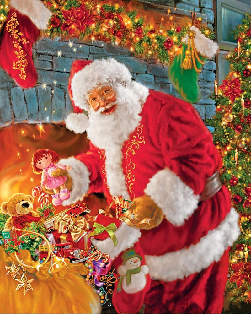 Santa's Return! Christmas Jigsaw Puzzle