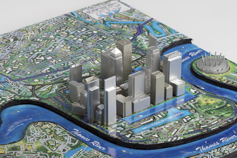 London 4D Cityscape Cities 3D Puzzle