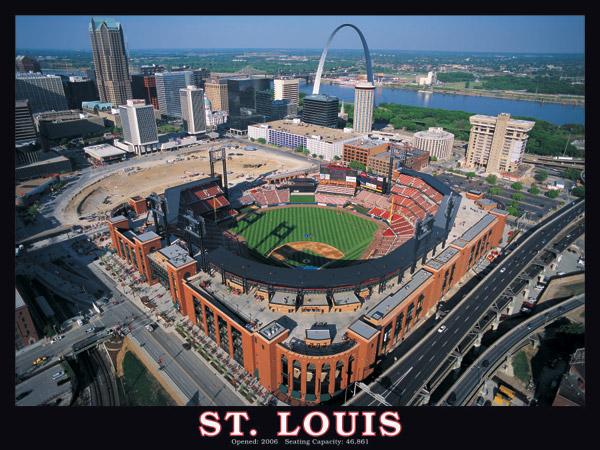 St. Louis Stadium Sports Jigsaw Puzzle