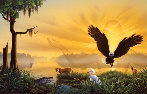 Spirit of the Wild Eagles Jigsaw Puzzle