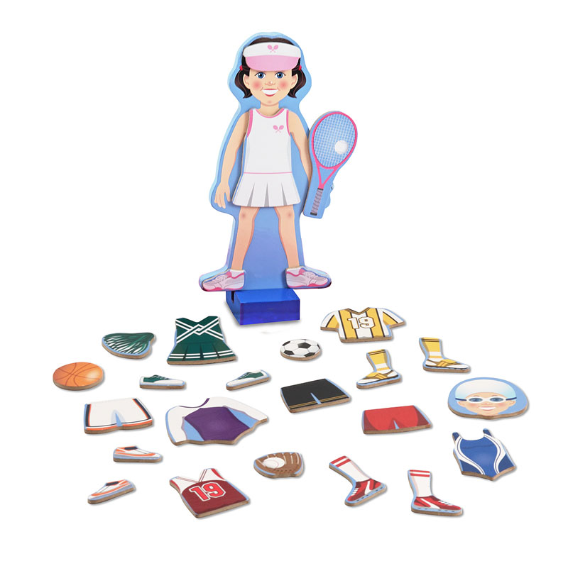 Julia Magnetic Dress-Up Pretend Play Toy