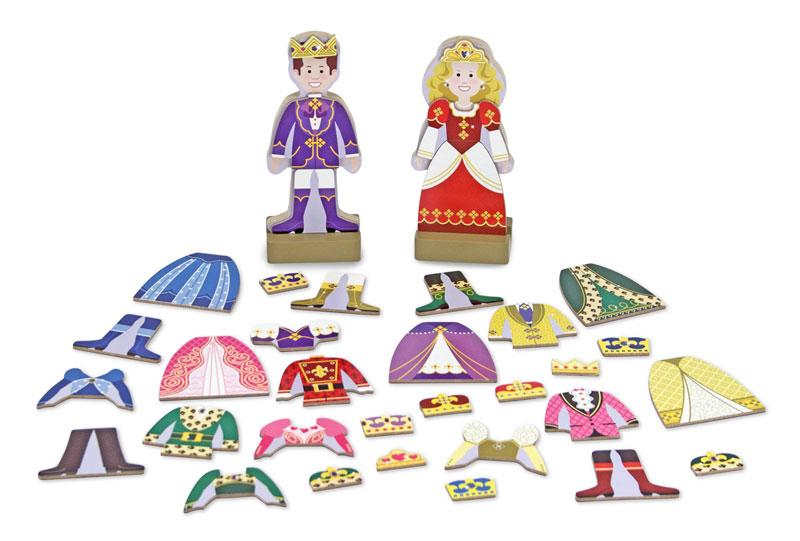Prince & Princess Magnetic Dress-Up Princess Jigsaw Puzzle
