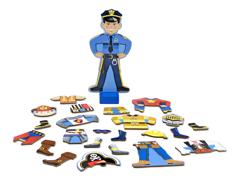 Magnetic Pretend Play - Joey People Toy