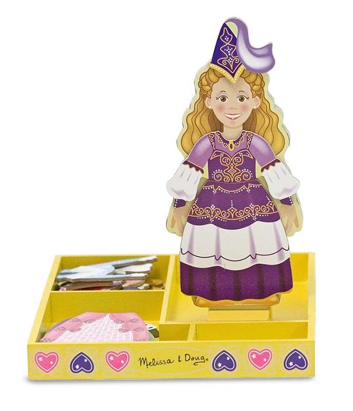 Princess Elise Magnetic Dress-Up Princess Jigsaw Puzzle