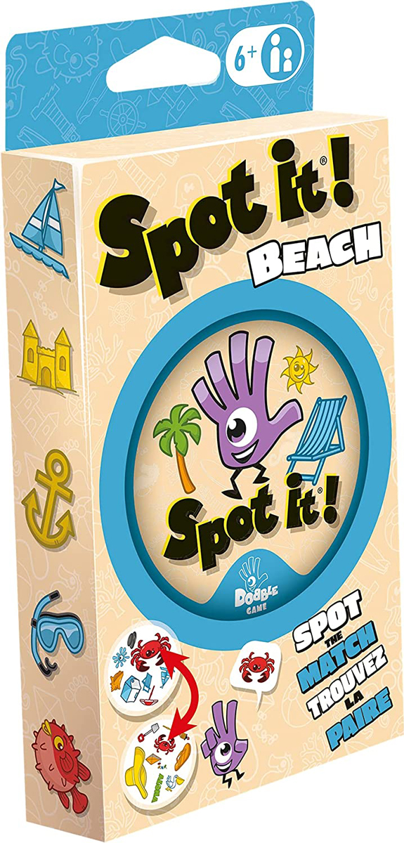 Spot It! Beach (Eco-Blister)