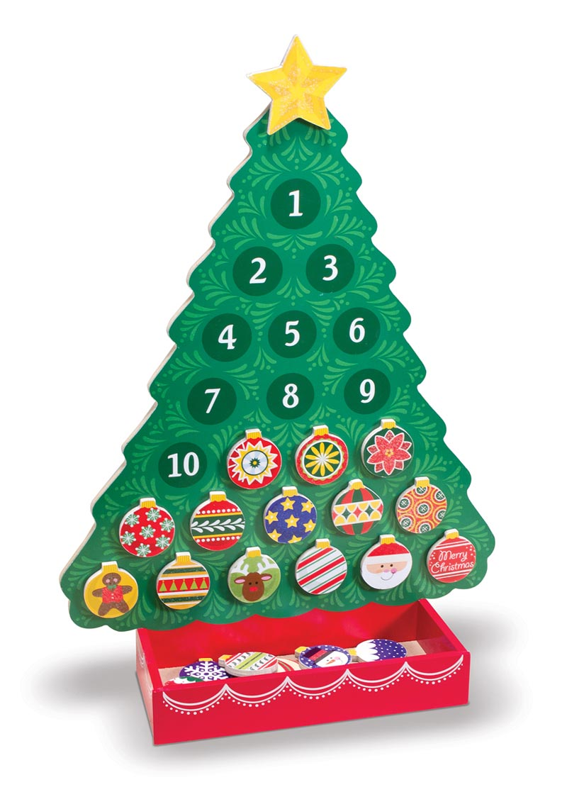 Christmas Countdown Advent Calendar Christmas Toy
