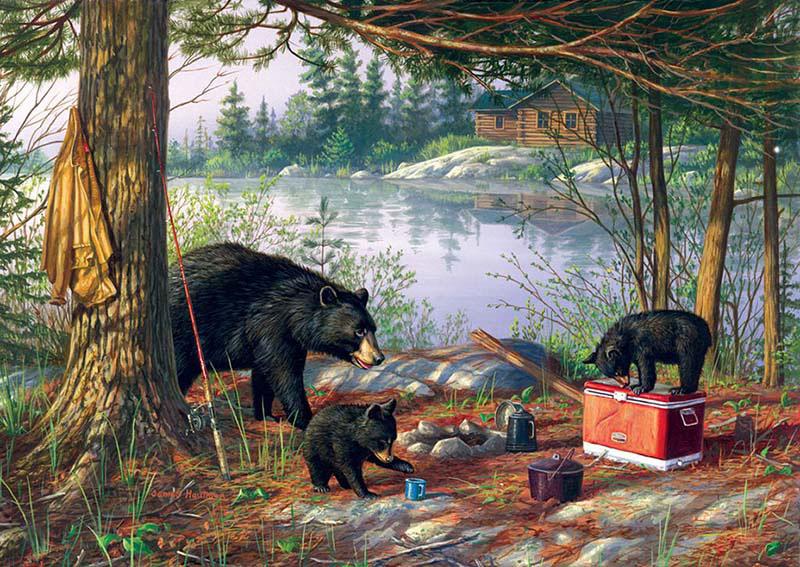 Breakfast Time Bears Bears Jigsaw Puzzle