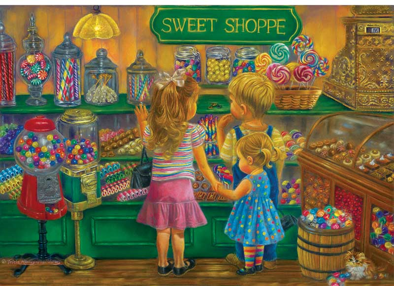 Candy Heaven - Scratch and Dent People Jigsaw Puzzle