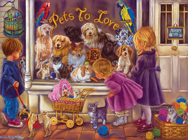 Pets to Love Dogs Jigsaw Puzzle