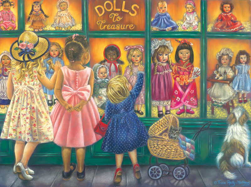 Dolls to Treasure People Jigsaw Puzzle