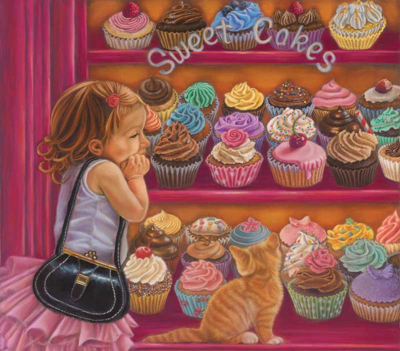 Sweetcakes Cats Jigsaw Puzzle