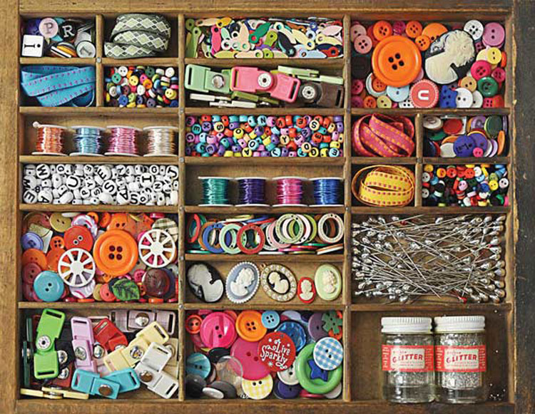 Puzzles To Remember The Sewing Box 36 Pc Jigsaw Puzzle