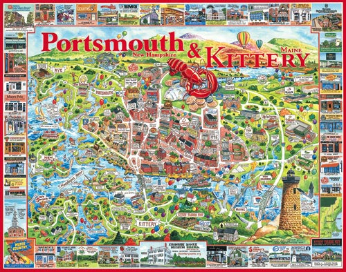 Portsmouth Nh Shopping >> Portsmouth Nh Kittery Me Jigsaw Puzzle Puzzlewarehouse Com