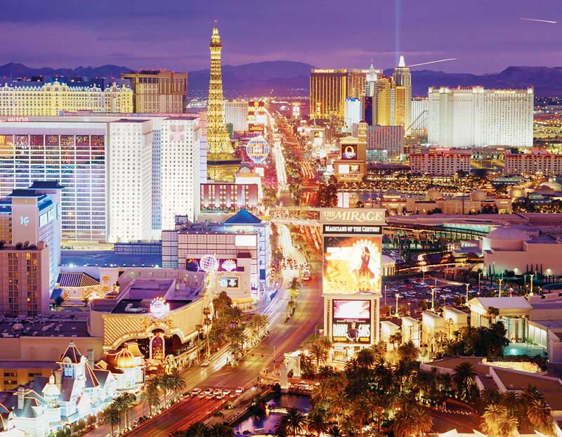 Las Vegas - Scratch and Dent Skyline / Cityscape Jigsaw Puzzle